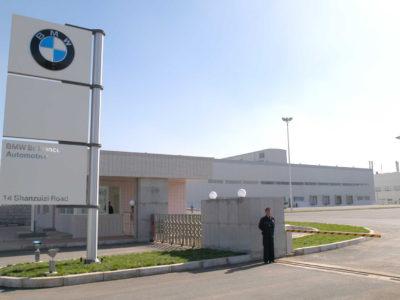 BMW kina